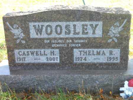 WOOSLEY, THELMA R. - Boone County, Illinois | THELMA R. WOOSLEY - Illinois Gravestone Photos