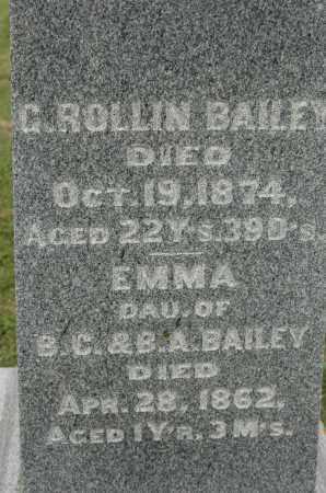 BAILEY, EMMA - Carroll County, Illinois | EMMA BAILEY - Illinois Gravestone Photos
