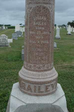 BAILEY, ELIJAH - Carroll County, Illinois | ELIJAH BAILEY - Illinois Gravestone Photos