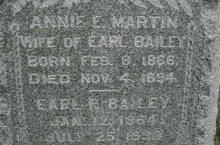 BAILEY, ANNIE E. - Carroll County, Illinois | ANNIE E. BAILEY - Illinois Gravestone Photos