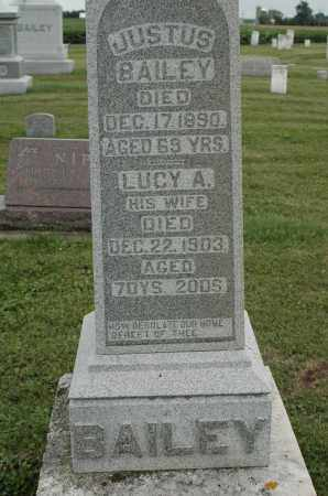 BAILEY, LUCY A. - Carroll County, Illinois | LUCY A. BAILEY - Illinois Gravestone Photos