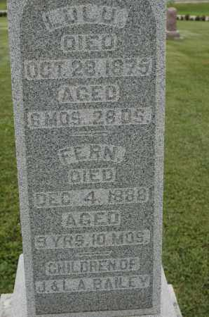 BAILEY, FERN - Carroll County, Illinois | FERN BAILEY - Illinois Gravestone Photos