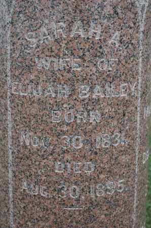 BAILEY, SARAH A. - Carroll County, Illinois | SARAH A. BAILEY - Illinois Gravestone Photos