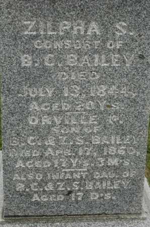 BAILEY, ORVILLE - Carroll County, Illinois | ORVILLE BAILEY - Illinois Gravestone Photos