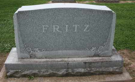 FRITZ, FAMILY STONE - Carroll County, Illinois | FAMILY STONE FRITZ - Illinois Gravestone Photos