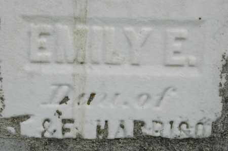 HARRISON, EMILY E. - Carroll County, Illinois | EMILY E. HARRISON - Illinois Gravestone Photos