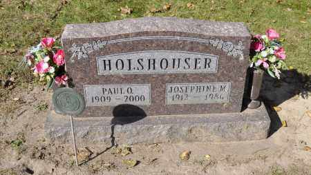 HOLSHOUSER, PAUL O. - Carroll County, Illinois | PAUL O. HOLSHOUSER - Illinois Gravestone Photos
