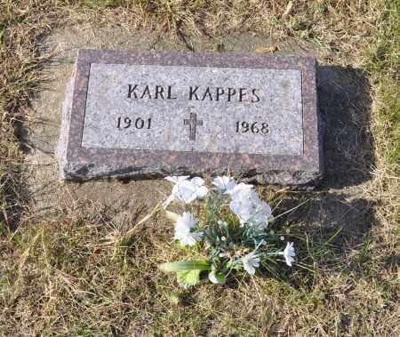 KAPPES, KARL - Carroll County, Illinois | KARL KAPPES - Illinois Gravestone Photos