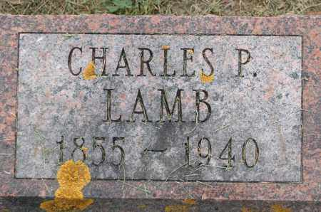 LAMB, CHARLES P. - Carroll County, Illinois | CHARLES P. LAMB - Illinois Gravestone Photos