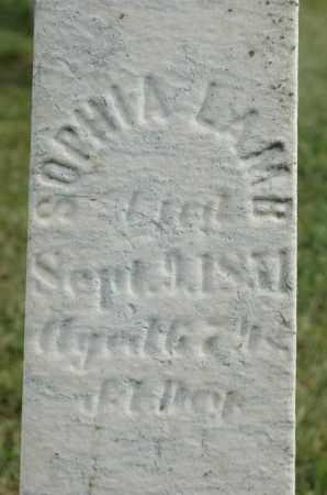 LAMB, SOPHIA - Carroll County, Illinois | SOPHIA LAMB - Illinois Gravestone Photos