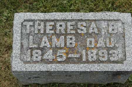 LAMB, THERESA B. - Carroll County, Illinois | THERESA B. LAMB - Illinois Gravestone Photos