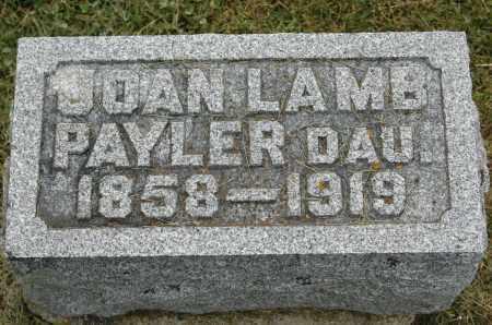 PAYLER, JOAN - Carroll County, Illinois   JOAN PAYLER - Illinois Gravestone Photos