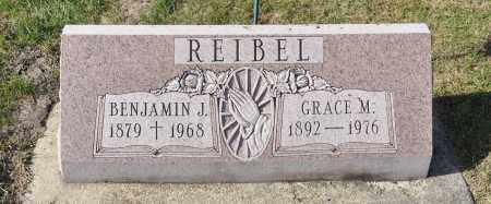 BECKNER REIBEL, GRACE M. - Carroll County, Illinois | GRACE M. BECKNER REIBEL - Illinois Gravestone Photos