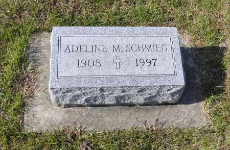 SCHMIEG, ADELINE M. - Carroll County, Illinois | ADELINE M. SCHMIEG - Illinois Gravestone Photos
