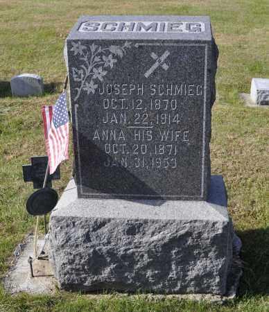 REIBEL SCHMIEG, ANNA - Carroll County, Illinois | ANNA REIBEL SCHMIEG - Illinois Gravestone Photos