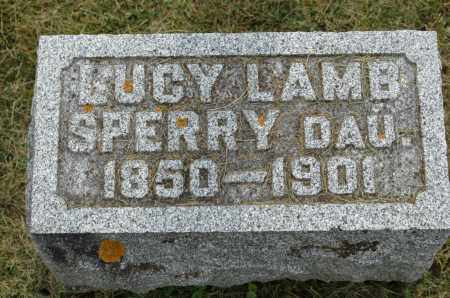 LAMB SPERRY, LUCY - Carroll County, Illinois | LUCY LAMB SPERRY - Illinois Gravestone Photos