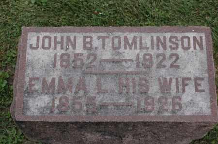 TOMLINSON, EMMA L. - Carroll County, Illinois   EMMA L. TOMLINSON - Illinois Gravestone Photos