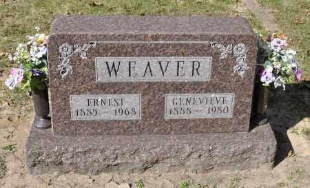 WEAVER, ERNEST - Carroll County, Illinois | ERNEST WEAVER - Illinois Gravestone Photos