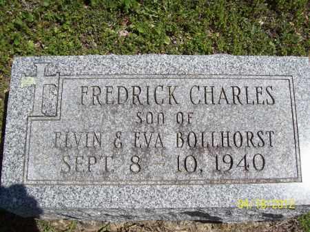 BOLLHORST, FREDRICK CHARLES - Cass County, Illinois   FREDRICK CHARLES BOLLHORST - Illinois Gravestone Photos