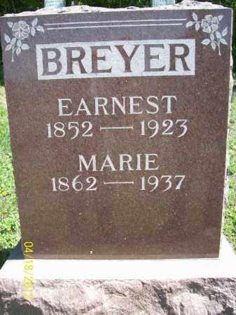 BREYER, MARIE - Cass County, Illinois | MARIE BREYER - Illinois Gravestone Photos