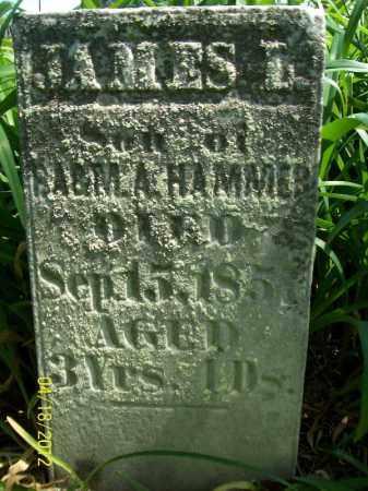 HAMMER, JAMES L - Cass County, Illinois | JAMES L HAMMER - Illinois Gravestone Photos