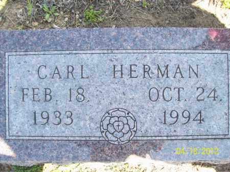 HERMAN, CARL - Cass County, Illinois   CARL HERMAN - Illinois Gravestone Photos
