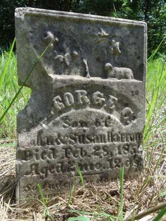 HORROM, GEORGE C. - Cass County, Illinois | GEORGE C. HORROM - Illinois Gravestone Photos