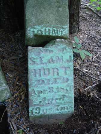 HURT, JOHN - Cass County, Illinois | JOHN HURT - Illinois Gravestone Photos