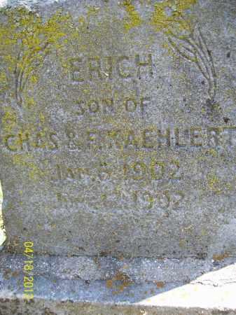 KAEHLERT, ERICH - Cass County, Illinois | ERICH KAEHLERT - Illinois Gravestone Photos