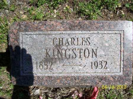 KINGSTON, CHARLES - Cass County, Illinois | CHARLES KINGSTON - Illinois Gravestone Photos