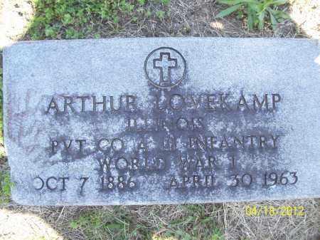 LOVEKAMP, ARTHUR (MIL) - Cass County, Illinois | ARTHUR (MIL) LOVEKAMP - Illinois Gravestone Photos