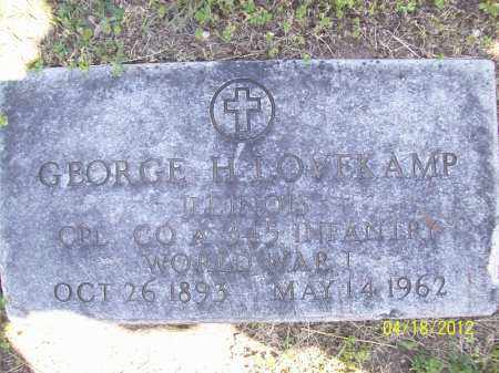 LOVEKAMP, GEORGE H. (MIL) - Cass County, Illinois | GEORGE H. (MIL) LOVEKAMP - Illinois Gravestone Photos