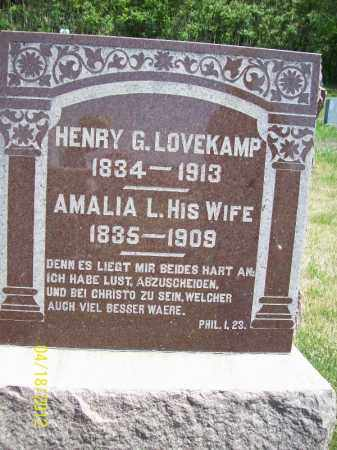LOVEKAMP, HENRY G. - Cass County, Illinois | HENRY G. LOVEKAMP - Illinois Gravestone Photos