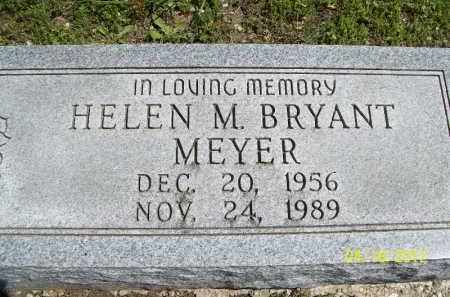 BRYANT MEYER, HELEN M. - Cass County, Illinois | HELEN M. BRYANT MEYER - Illinois Gravestone Photos