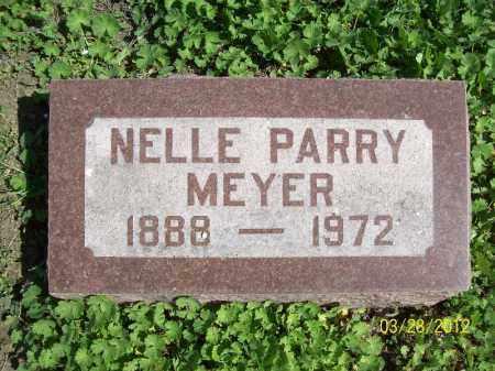 MEYER, NELLE - Cass County, Illinois | NELLE MEYER - Illinois Gravestone Photos