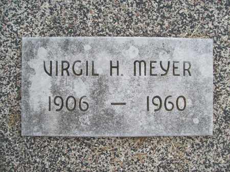 MEYER, VIRGIL H. - Cass County, Illinois | VIRGIL H. MEYER - Illinois Gravestone Photos