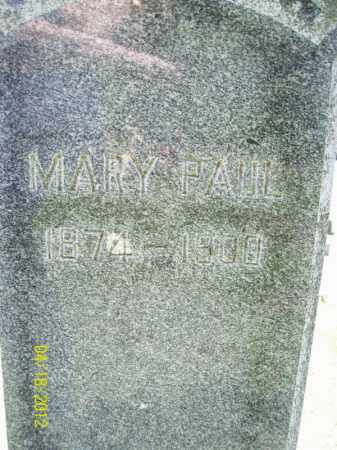 PAUL, MARY - Cass County, Illinois | MARY PAUL - Illinois Gravestone Photos