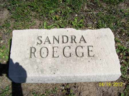 ROEGGE, SANDRA - Cass County, Illinois | SANDRA ROEGGE - Illinois Gravestone Photos