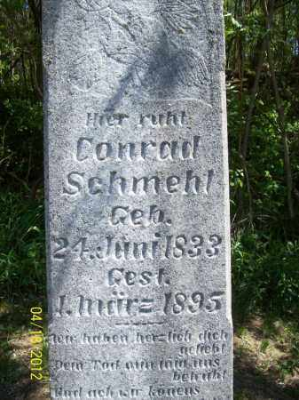 SCHMEHL, CONRAD - Cass County, Illinois | CONRAD SCHMEHL - Illinois Gravestone Photos