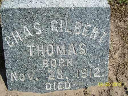 THOMAS, CHARLES GILBERT - Cass County, Illinois   CHARLES GILBERT THOMAS - Illinois Gravestone Photos
