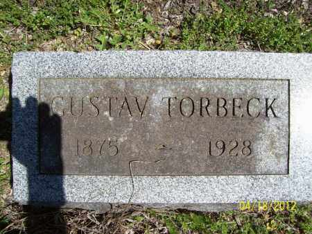 TORBECK, GUSTAV - Cass County, Illinois | GUSTAV TORBECK - Illinois Gravestone Photos