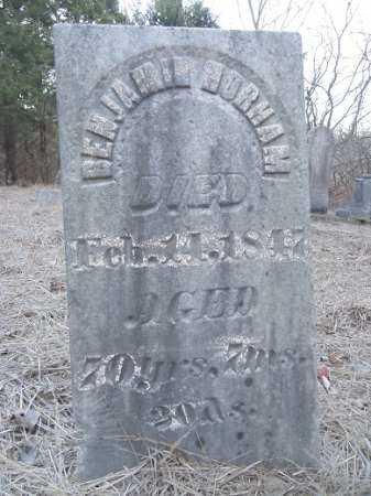 HORHAM, BENJAMIN - Cass County, Illinois | BENJAMIN HORHAM - Illinois Gravestone Photos