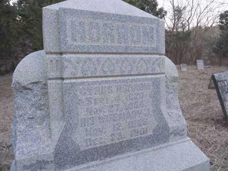HORRUM, MARY J. - Cass County, Illinois | MARY J. HORRUM - Illinois Gravestone Photos