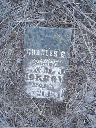 HORROM, CHARLES C - Cass County, Illinois   CHARLES C HORROM - Illinois Gravestone Photos