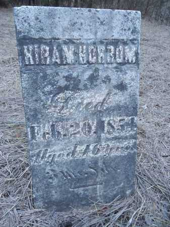HORROM, HIRAM - Cass County, Illinois | HIRAM HORROM - Illinois Gravestone Photos