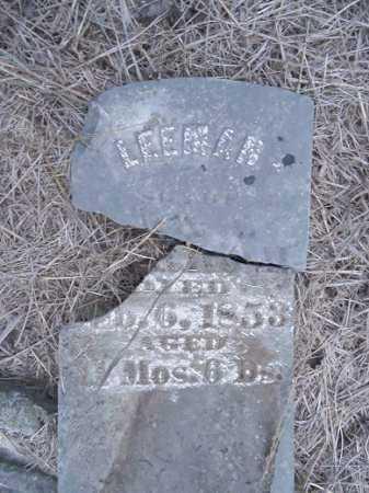HORROM, LEEMAN - Cass County, Illinois | LEEMAN HORROM - Illinois Gravestone Photos