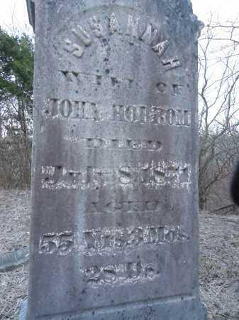 HORROM, SUSANNAH - Cass County, Illinois | SUSANNAH HORROM - Illinois Gravestone Photos