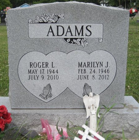 FISHER ADAMS, MARILYN J. - Champaign County, Illinois | MARILYN J. FISHER ADAMS - Illinois Gravestone Photos