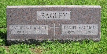 WALSH BAGLEY, CATHERINE - Champaign County, Illinois | CATHERINE WALSH BAGLEY - Illinois Gravestone Photos