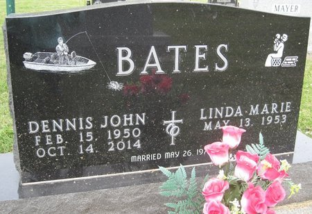 "BATES, DENNIS JOHN ""DENNY - Champaign County, Illinois | DENNIS JOHN ""DENNY BATES - Illinois Gravestone Photos"